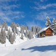 Winter landscape — Stockfoto #6122178