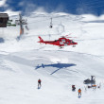 rescue helikopter — Stockfoto