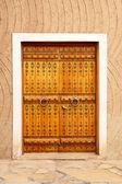 Porte arabe traditionnel — Photo