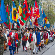 Swiss National Day parade in Zurich — Lizenzfreies Foto