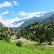 View of Zermatt valley — Stock Photo #6534600