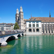 Zurich in summer - Stock fotografie