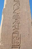 Hieroglyphs — Stockfoto