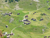 Small village near Zermatt — Stock Photo