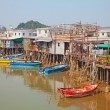 Tai O fishing village - Stock Photo
