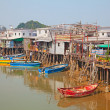 Stock Photo: Tai O fishing village