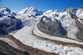 Scioglimento dei ghiacciai — Foto Stock