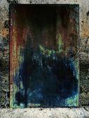 Old grunge door — Stock Photo
