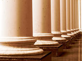 Antika kolonner — Stockfoto