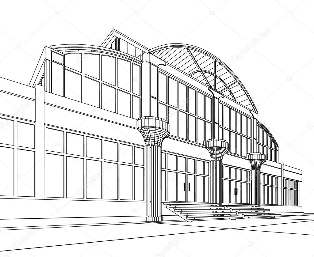 抽象 建筑