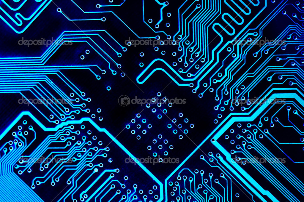 blue circuit board background blue circuit board background computer motherboard stock