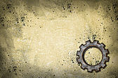 Rusty gear wheel — Stock Photo