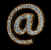 ржавый электронной почты — Стоковое фото