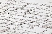 Certificat de l'écriture manuscrite — Photo