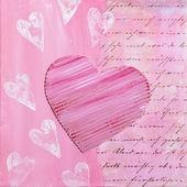Peinture de coeur — Photo