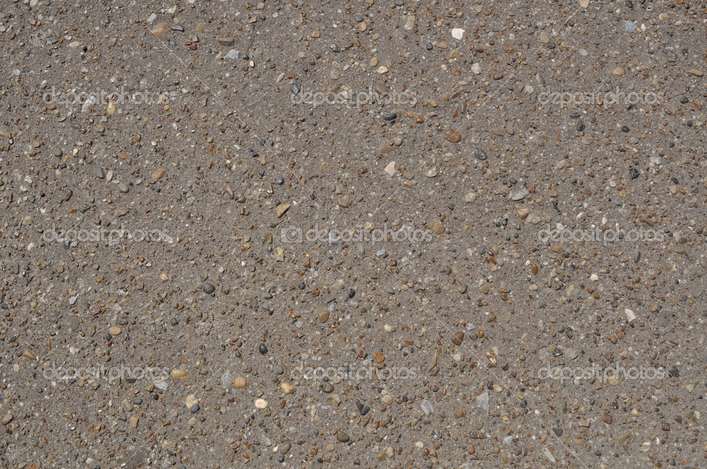 The surface of decorative asphalt inlaid with colored stones — Stock Photo #6030924