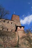 Zamek w norymberdze margarethenturm heidenturm — Zdjęcie stockowe