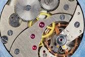 El mecanismo de la viejas horas — Foto de Stock