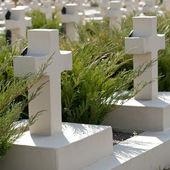 Военное кладбище — Стоковое фото