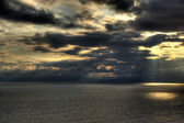 The sea and the sky — Stockfoto