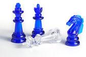 Figura de xadrez isolada — Foto Stock