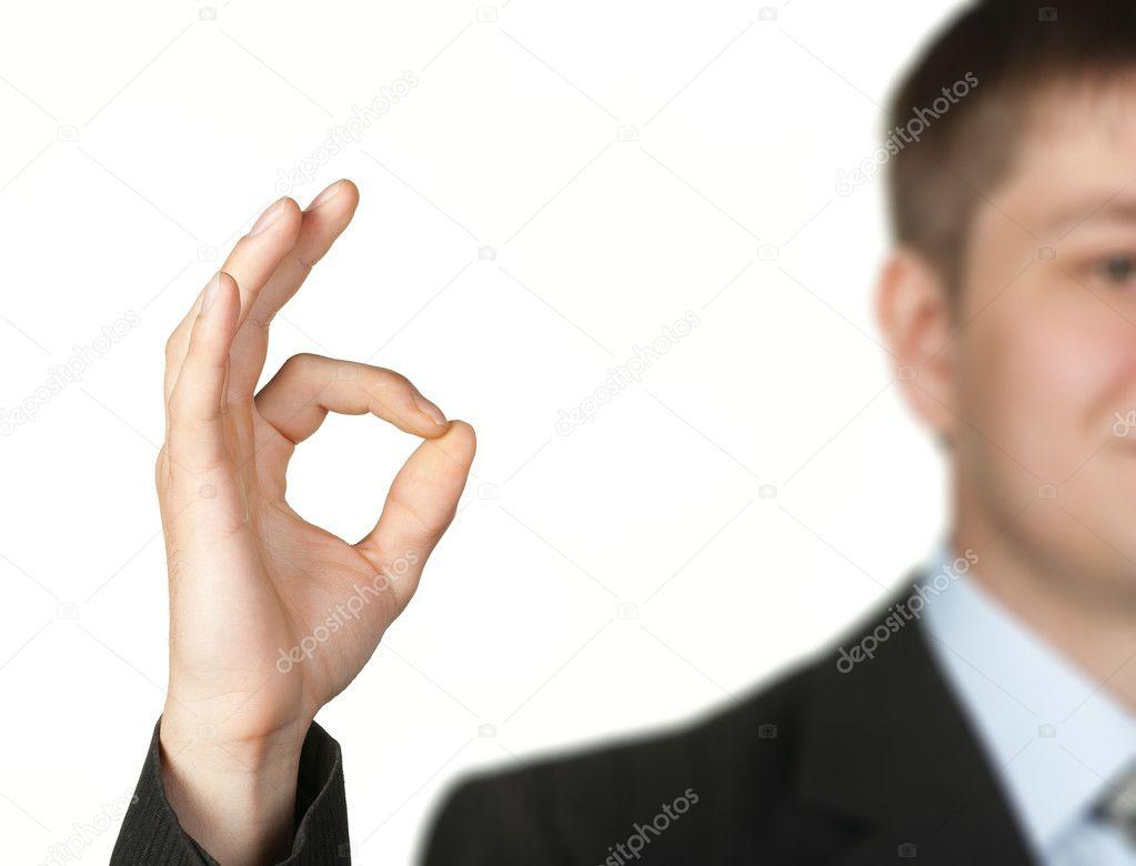 OK hand sign — Stock Photo © galdzer #5945246