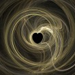 Stock Photo: Heart- abstract