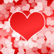 Background more heart - Foto Stock