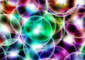 Abstract background - light circle — Stock Photo