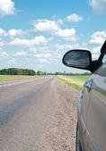 車と道路 — ストック写真