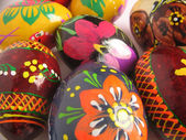Background easter painted egg — Stock Photo