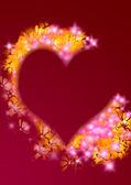 Background heart — Stock Photo