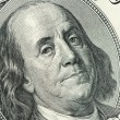 Stock Photo: Benjamin Franklin close up