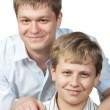 Two brothers — Stock Photo #6190437