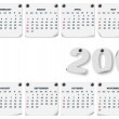 Royalty-Free Stock Photo: Calendar 2008