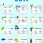 Calendar 2011 — Stock Photo #6190775
