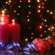 Christmas evening - Foto Stock