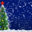 Christmas fir tree — Stock Photo #6191129