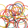Stock Photo: Color elastic bands