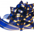 Decorative ornament background - ribbon blue - Foto Stock