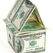 Dollar - the house — Stock Photo