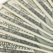 Dollar background — Stock Photo