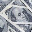 Stock Photo: Dollar close up background