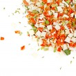 Dry spices background — Stock Photo #6192026