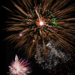 Fantastic fireworks — Stock Photo