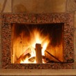 Fireplace — Stock Photo #6192674