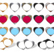 Hearts - frame stylish — Stock Photo #6193814