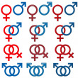 Stock Photo: Female & Male Symbol