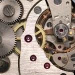 Mechanism of analog hours — Stock Photo #6195050