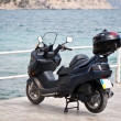 Stock Photo: Moped